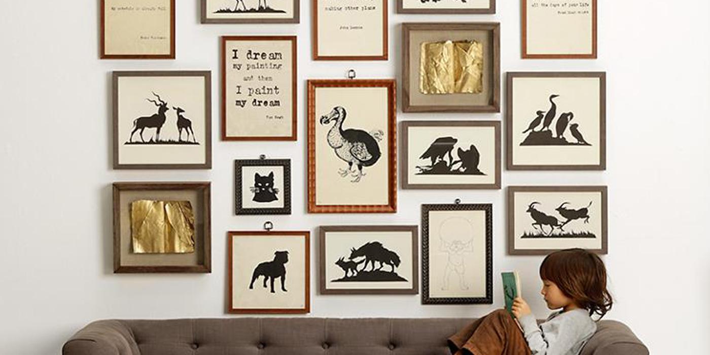 53 idee per arredare le pareti inspire we trust for Arredare le pareti