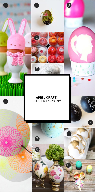 April Craft: Pasqua fai da te   Inspire We Trust