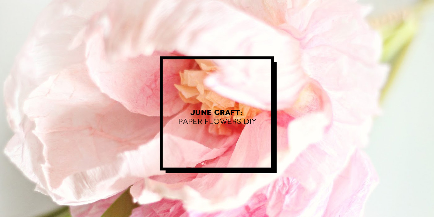 June Craft: realizzare fiori di carta | Inspire We Trust