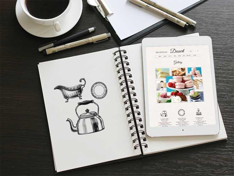 12 Free Sketchbook Mockup | Inspire We Trust