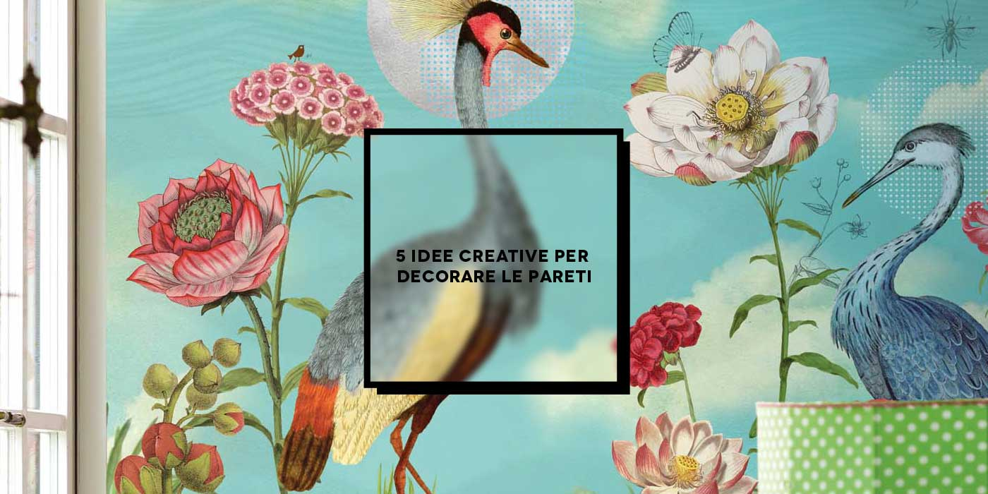 5 idee creative per decorare le pareti inspire we trust - Idee per colorare le pareti ...