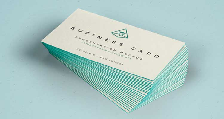 55 free business card mockup inspire we trust card border color business card reheart