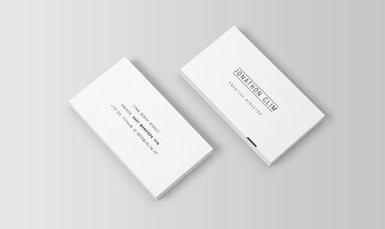 55 Free business card mockup Inspire We Trust