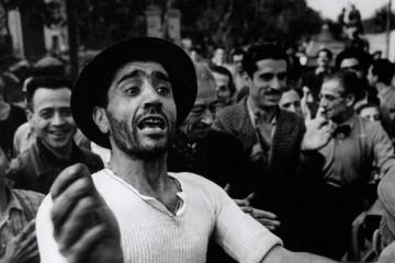 Foto iconiche di Robert Robert Capa in Italia