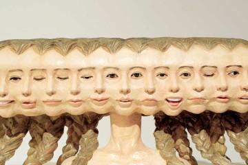 Il movimento nella scultura di Yoshitoshi Kanemaki