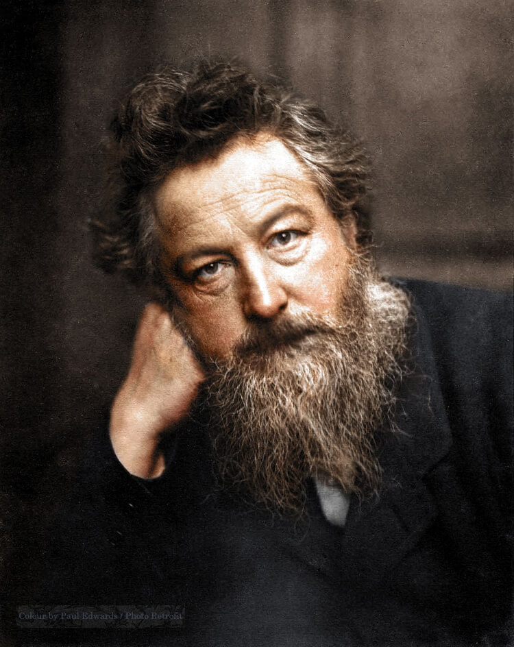 Colorized History - William Morris
