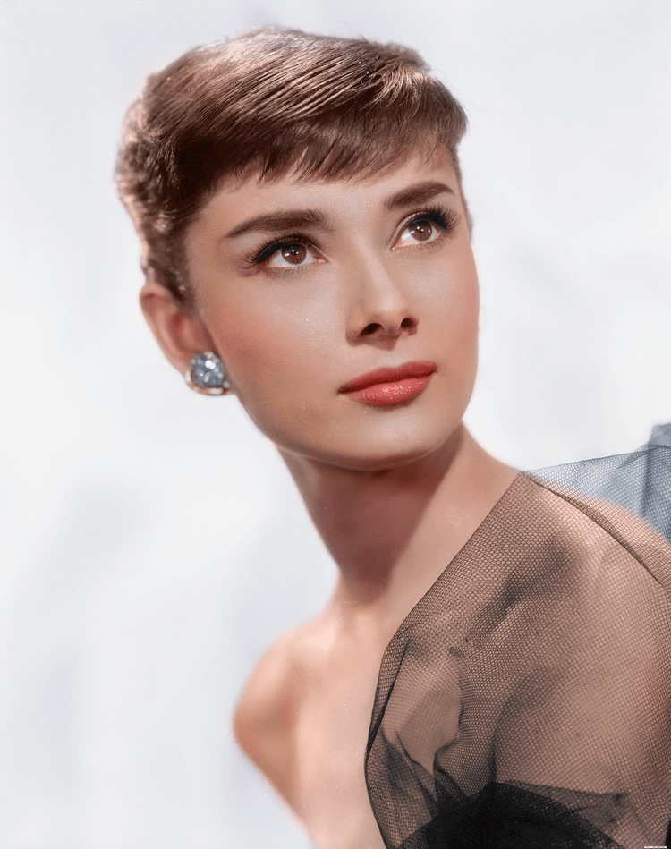 Colorized History - Audrey Hepburn