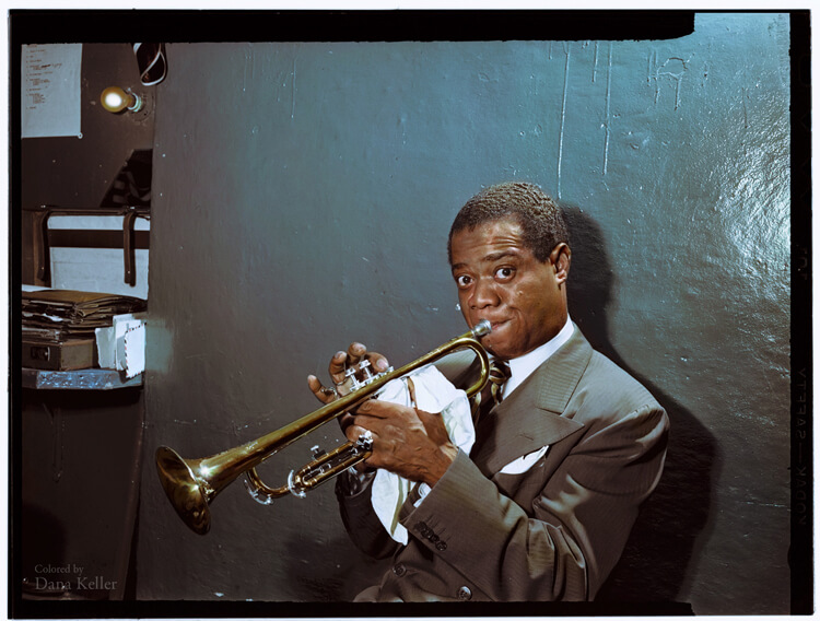 Colorized History - Louis Armstrong