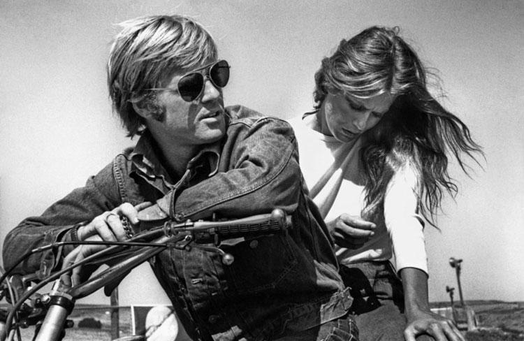 Robert Redford e Lauren Hutton