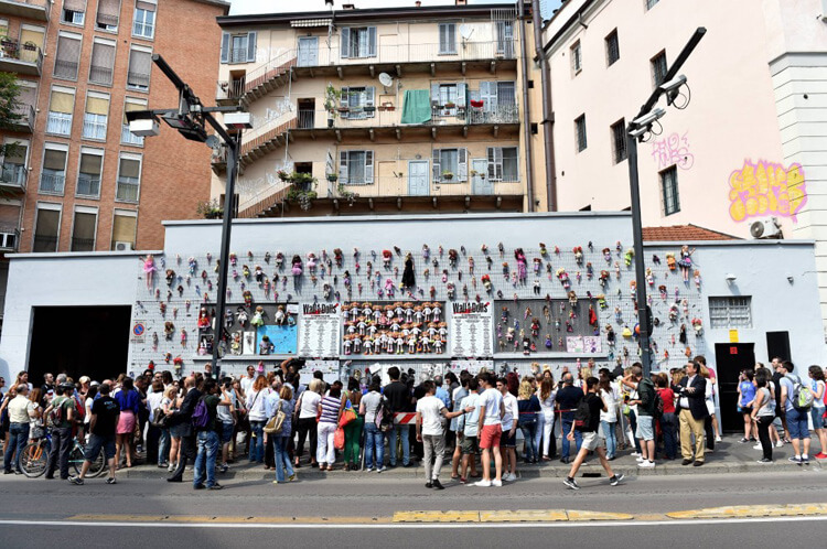 Arte e violenza: Wall of Dolls